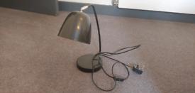 Black retro lamp E14 bulb