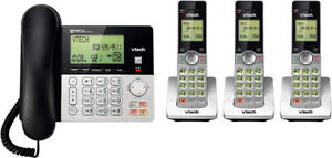 VTech CS6949-3 DECT 6.0 Corded & 3 Cordless Telephone System