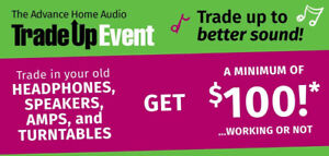 The Advance Home Audio Trade Up Event