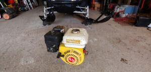 Moteur 6.5 hp fendeuse rotoculteur souffleuse go kart plaque ...