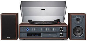 Teac LP-P1000 Turntable Stereo System with CD/Radio/Blue