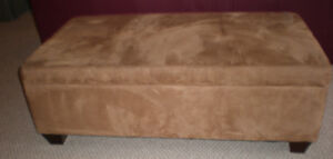 Upholstered Ottoman for Sale