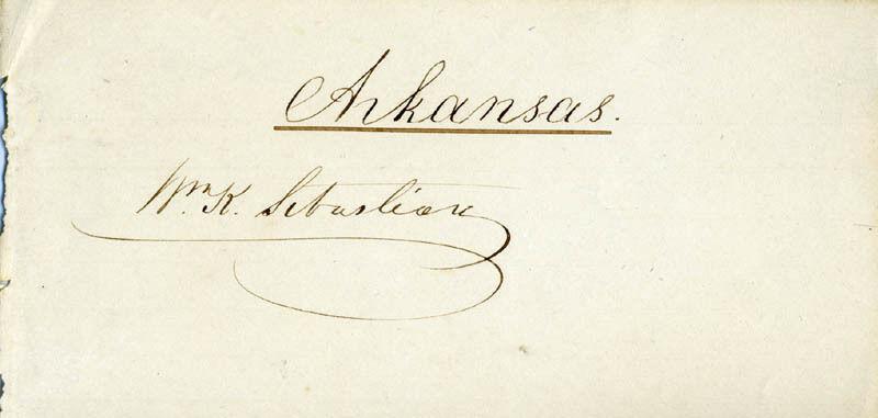 WILLIAM K. SEBASTIAN - SIGNATURE(S)