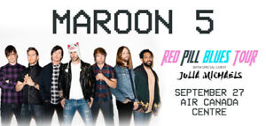 Maroon 5 : Red Pill Blues Tour (Face Price) Lower Bowl Tickets