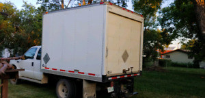 Grainmaster dry cell truck box