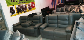 Leather Sofas Roma Recliner