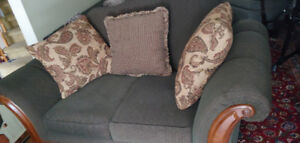Gorgeous Couch/ Loveseat, like new