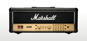 FS Marshall JVM210H with footswitch