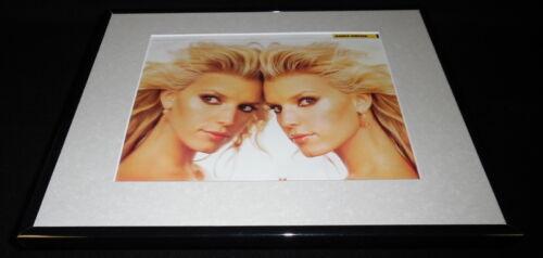 Jessica Simpson 2004 Framed 11x14 Photo Display Newlyweds