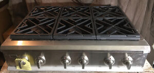 New GE Monagram Chef Cooktop