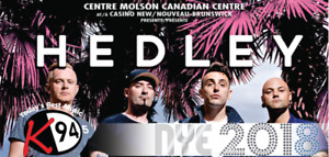 Hedley - NYE at the Casino