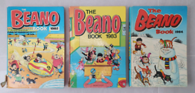 Vintage Beano comic book annuals from the 1980s #3