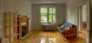 Mile-End Sunny, Furnished Room in Ideal location