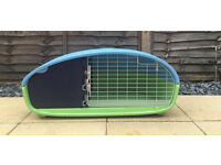 Piggypod small rabbit/Guinea pig cage. Dual purpose hutch for small animals indoor and outdoor pod