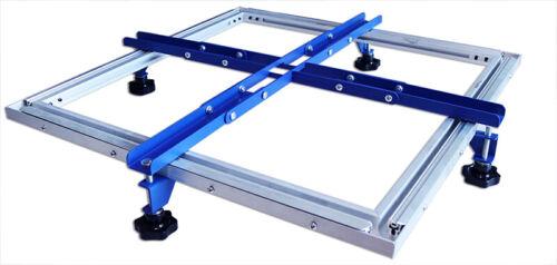 "Manual Screen Stretcher 24""x24"" Simple Mesh Screen Stretching Equipment"