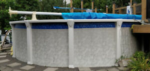 Piscine hors terre 18 pieds / 18 ft above ground pool