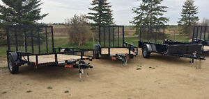 Wide Selection of Trailers