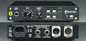 Selling Great River ME-1NV - Single Channel Microphone Preamp