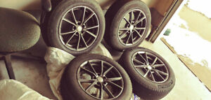 235/60/R18 all season tires and rims off of 2009 Audi Q5