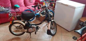 1980 Yamaha QT50 scooter