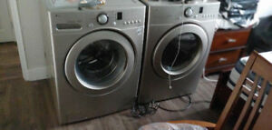 LG washer and dryer new condition