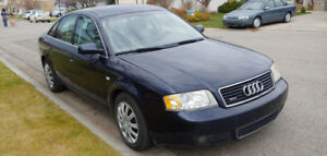 Winter is Coming - 2004 Audi A6 Quattro 2.7T