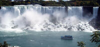 Round Trip to Niagara Falls and other cities... private driver