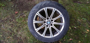 BMW Alloy Rims with Winter Tires 17""