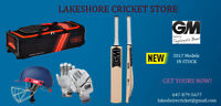 Over 300 Cricket Bats from $50 and Full Hardball Kit Available