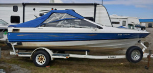 19' Bayliner Bowrider + Trailer