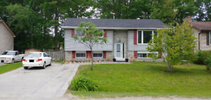 3 Bed Upper Floor Angus 5 mins from Borden with 2 parking spots