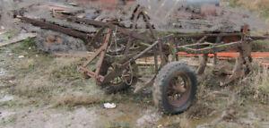 Old Massey Harris 3 Furrow Plough