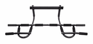 ProSource Multi-Grip Chin-Up/Pull-Up Bar, Heavy Duty Doorway Tra