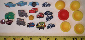 Qty 16 x Rubber Clog Sandal Charms and Poppers