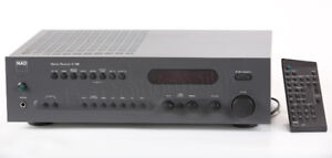 Ampli NAD C-740  Hi-Fi et télécommande sound system