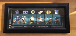 Great Condition- NHL Original 6 Framed Posters (Set of 3)
