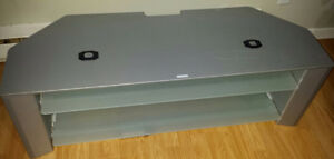 SONY TV Stand with 2 Glass Shelfs. $30.00