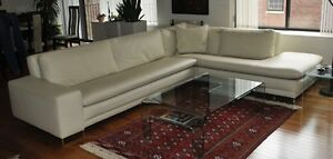Italian Leather Sofa/sectional for sale