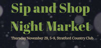 Sip & Shop Night Market!
