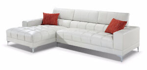 Brand new White Leather Couch