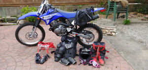 Yamaha TTR 125L Very good shape includes accessories