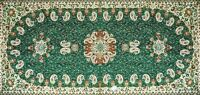Outstanding Goldwork Silk Paisley Art Runner Rug Brand New