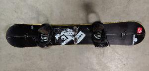 Splitboard splitboard avec kit voile fixation incluse 160cm