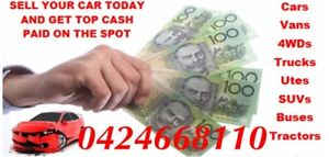 CASH FOR UNWANTED CARS Dakabin Pine Rivers Area Preview