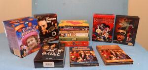 DVD, GROS LOT DE COFFRETS et SÉRIES, ELVIS, DOWNTON ABBEY ETC...