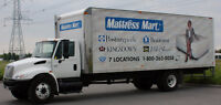 Drivers for home delivery of mattresses and furniture