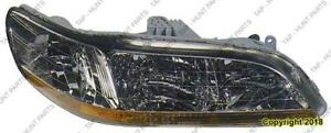 Head Light Passenger Side High Quality Honda Accord 1998-2000