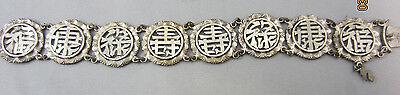 Vietnamese Saigon Argent 800 Silver Bracelet Indochina 1920-54