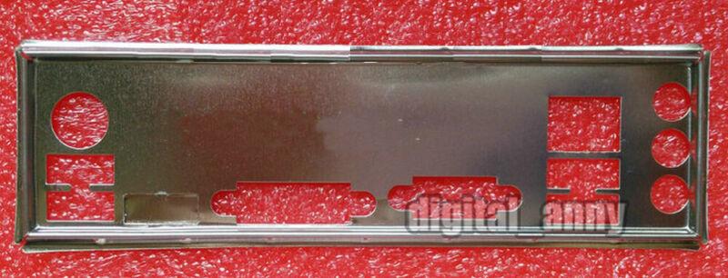 OEM I//O Shield For Biostar H77MU3,H61MHB,B75MU3 Motherboard Backplate IO