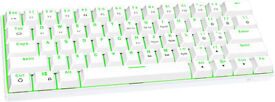 Mechanical Gaming Keyboard Black/White Brand new!